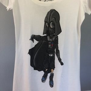 Death Vader Scoop Neck Shirt